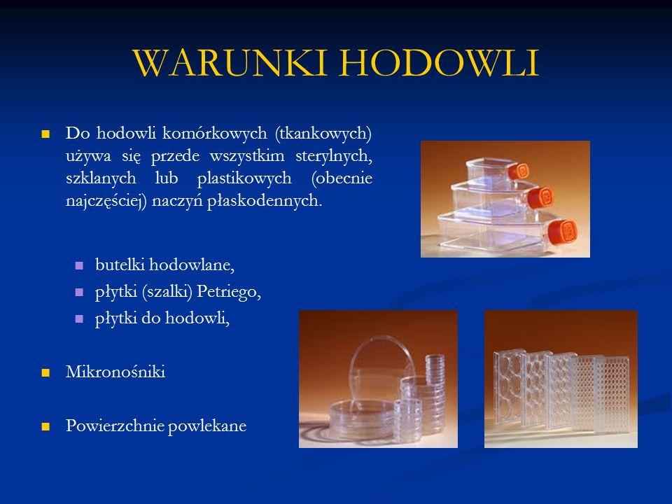 WARUNKI HODOWLI