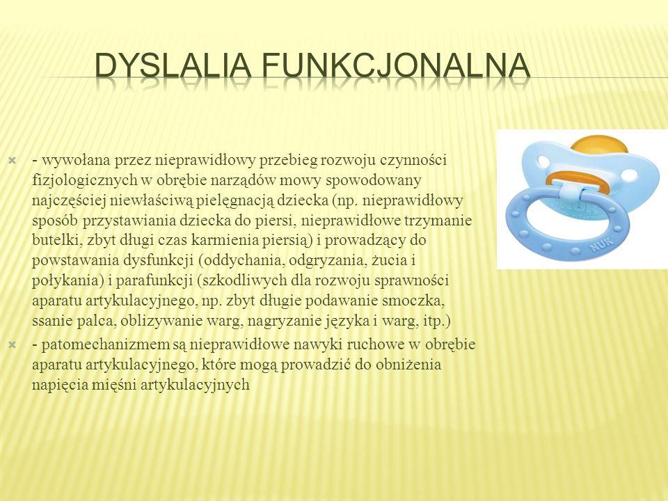 Dyslalia funkcjonalna