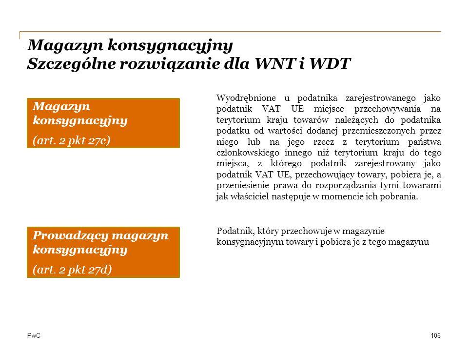 Magazyn konsygnacyjny Szczególne rozwiązanie dla WNT i WDT