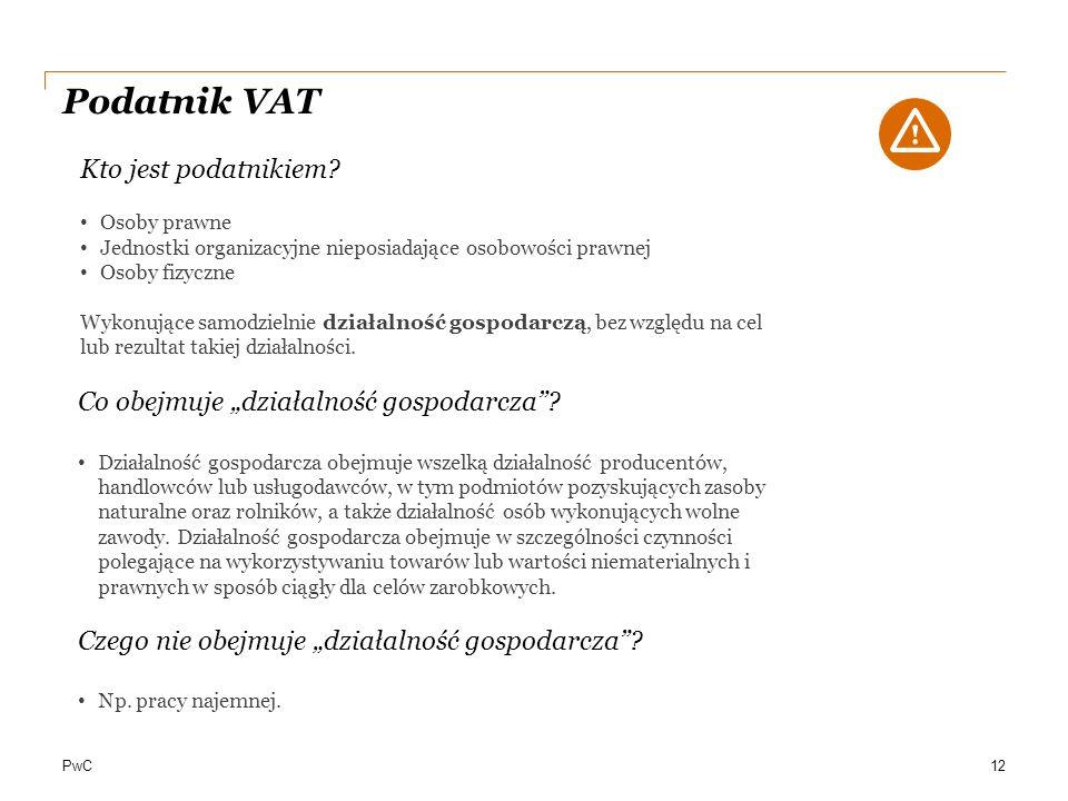 Podatnik VAT Kto jest podatnikiem