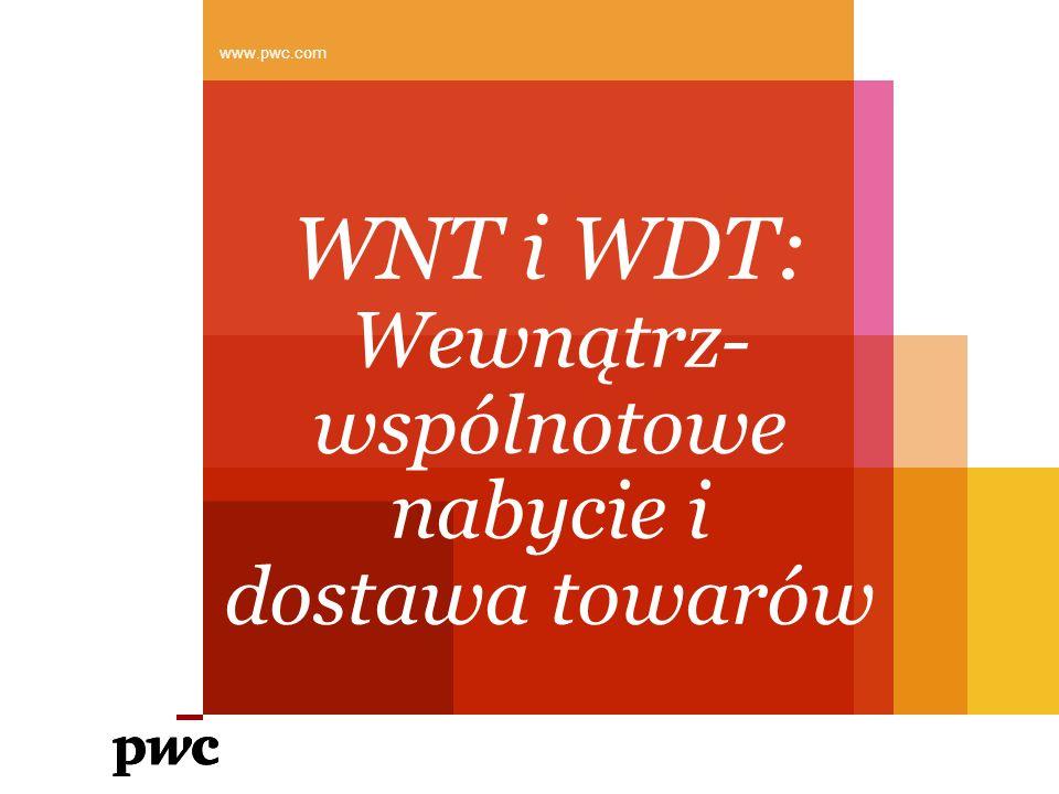 WNT i WDT: Wewnątrz-wspólnotowe nabycie i dostawa towarów