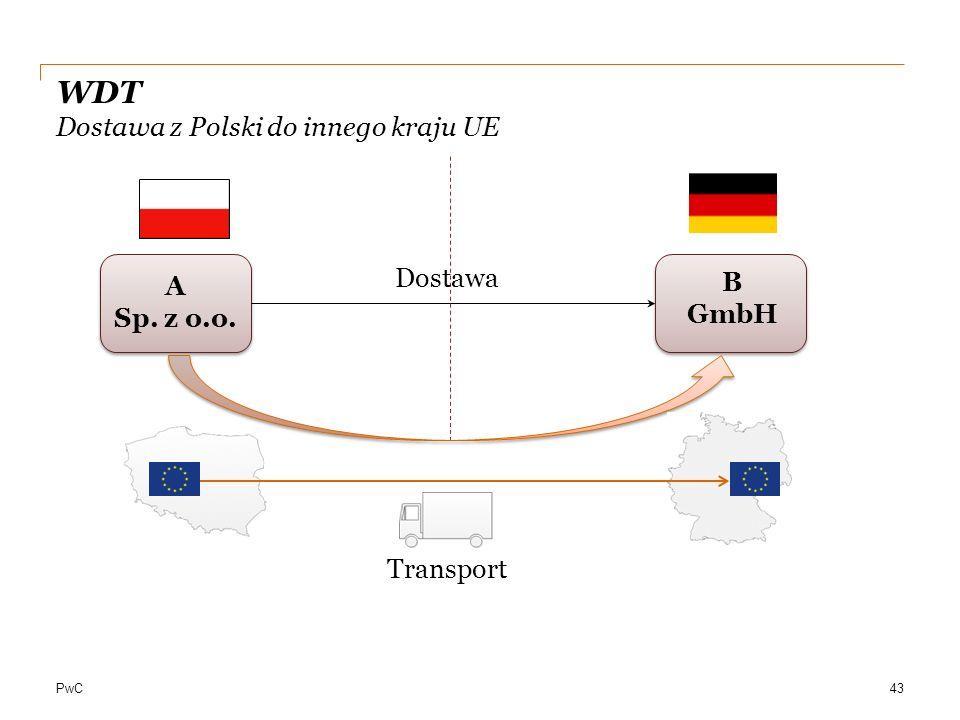 WDT Dostawa z Polski do innego kraju UE
