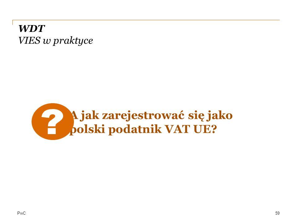A jak zarejestrować się jako polski podatnik VAT UE