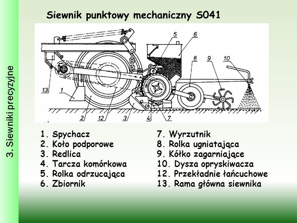 Siewnik punktowy mechaniczny S041