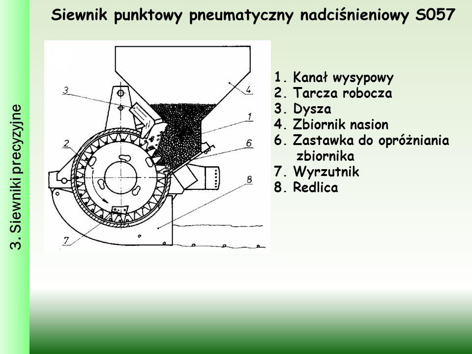 Siewnik punktowy pneumatyczny nadciśnieniowy S057