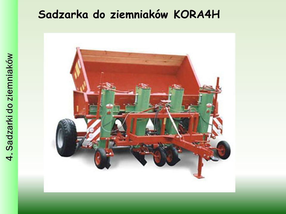 Sadzarka do ziemniaków KORA4H