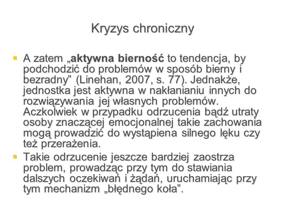 Kryzys chroniczny