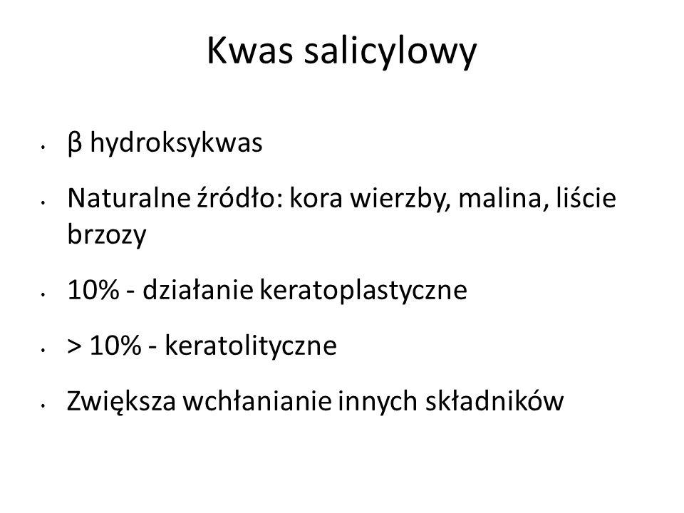 Kwas salicylowy β hydroksykwas