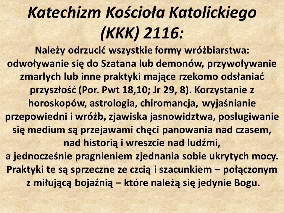 Katechizm Kościoła Katolickiego (KKK) 2116: