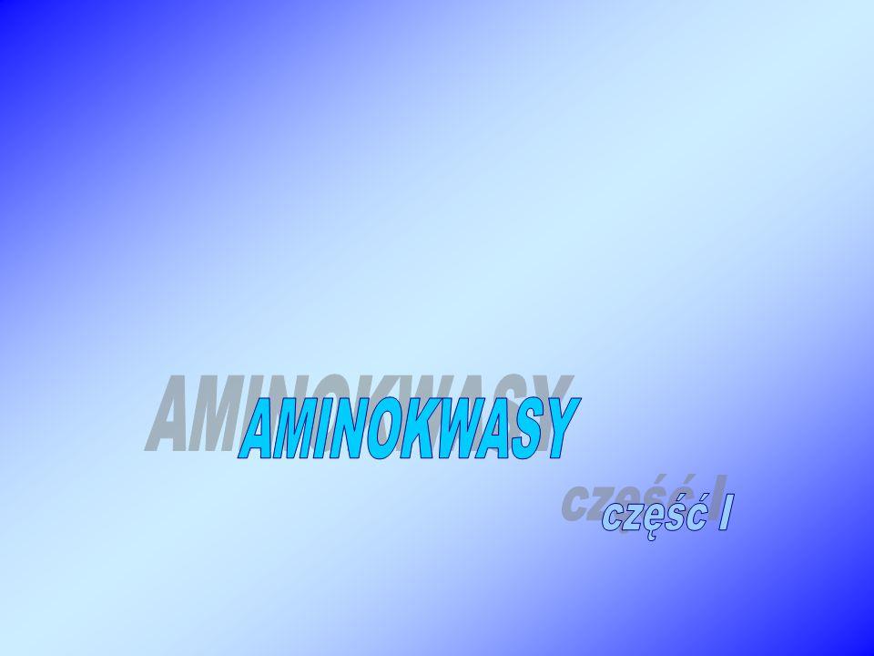 AMINOKWASY część I