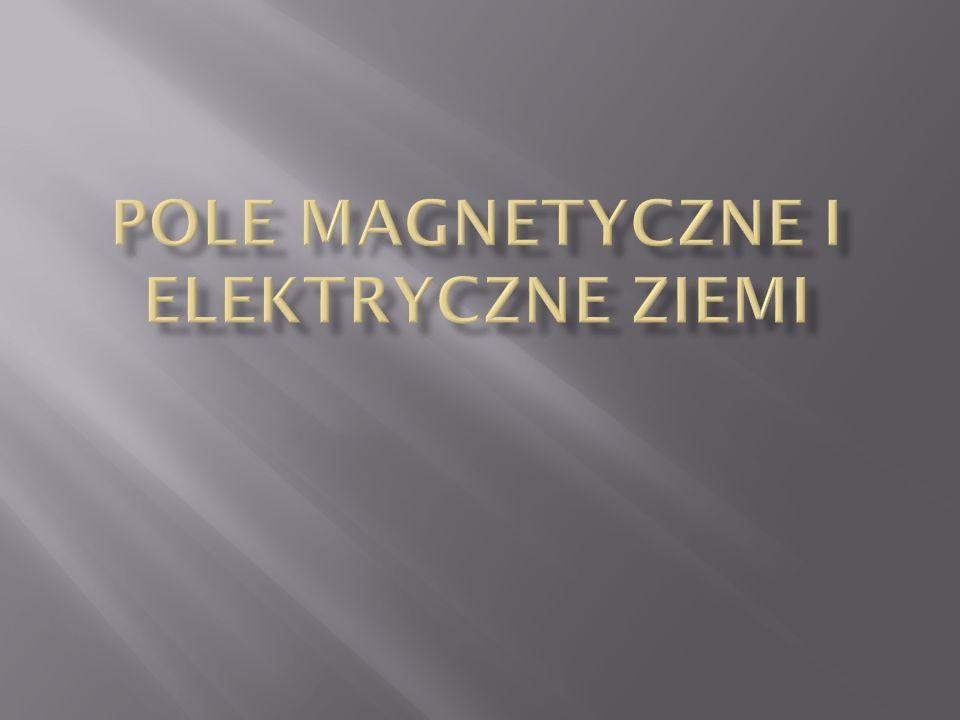 Pole magnetyczne i elektryczne Ziemi