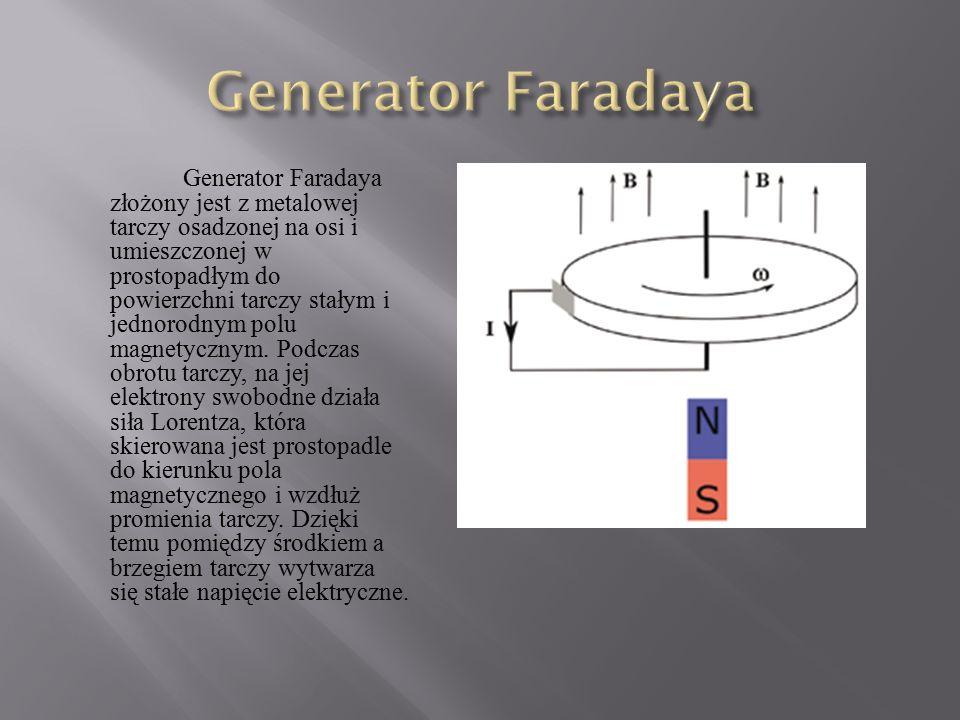 Generator Faradaya
