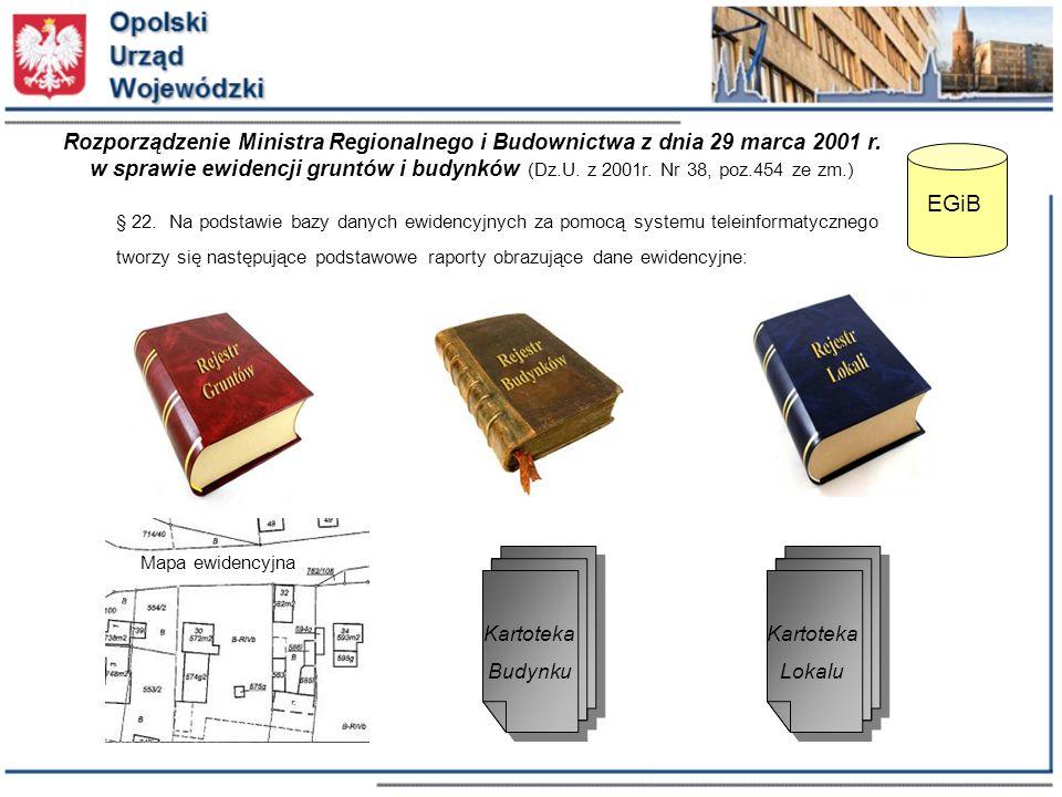 Rozporządzenie Ministra Regionalnego i Budownictwa z dnia 29 marca 2001 r.