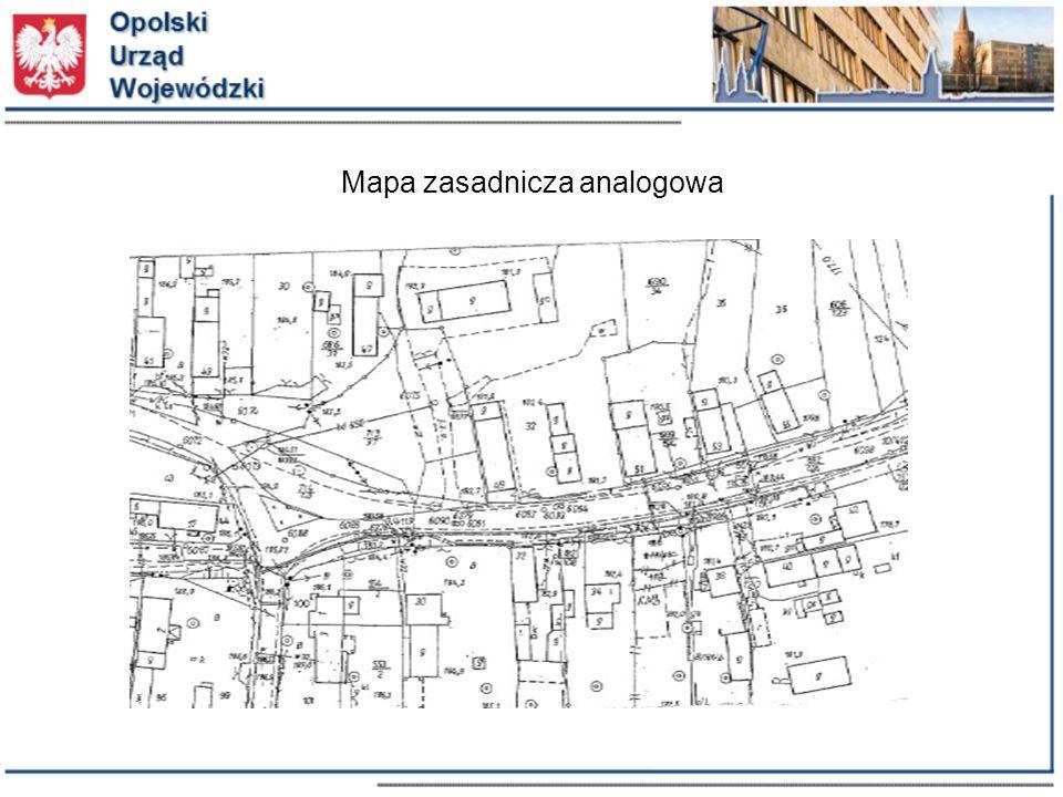 Mapa zasadnicza analogowa