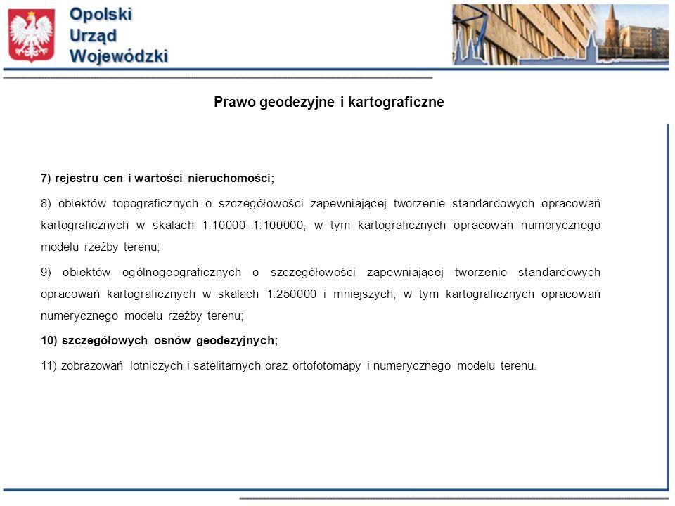 Prawo geodezyjne i kartograficzne