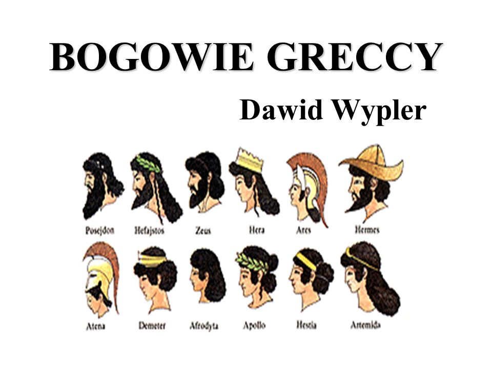 BOGOWIE GRECCY Dawid Wypler