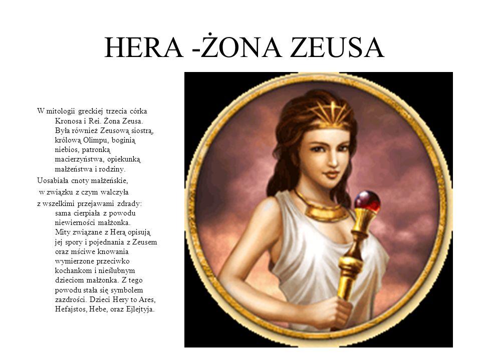HERA -ŻONA ZEUSA