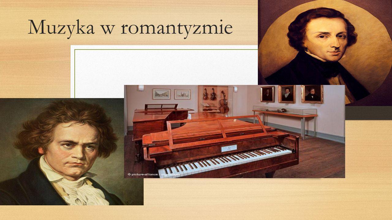 Muzyka w romantyzmie