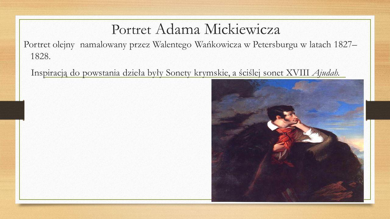 Portret Adama Mickiewicza