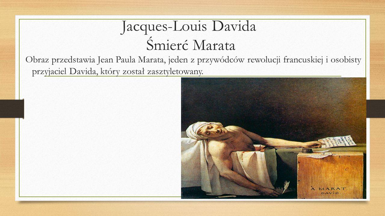 Jacques-Louis Davida Śmierć Marata