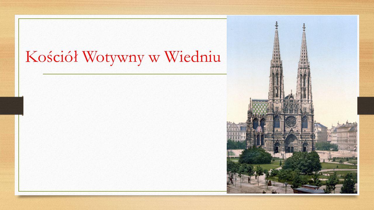 Kościół Wotywny w Wiedniu