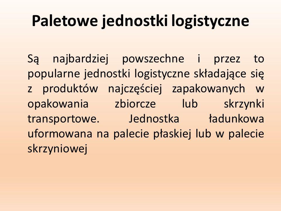 Paletowe jednostki logistyczne