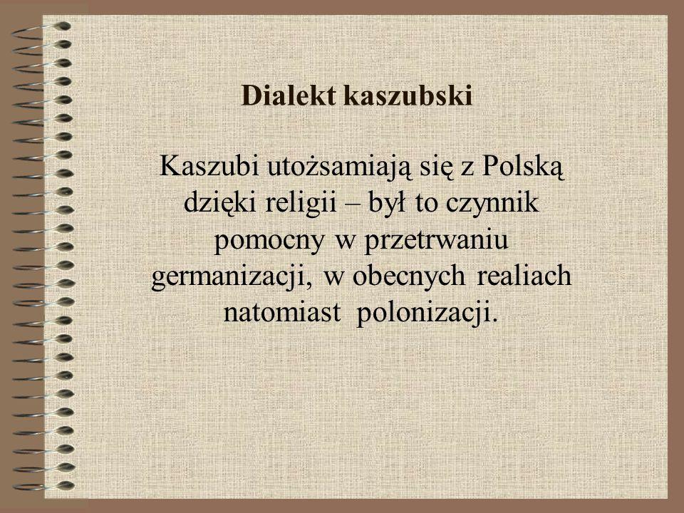 Dialekt kaszubski