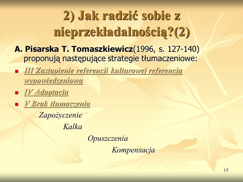 2) Jak radzić sobie z nieprzekładalnością (2)