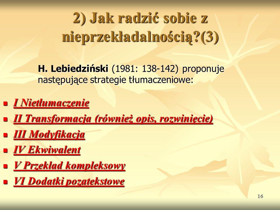 2) Jak radzić sobie z nieprzekładalnością (3)