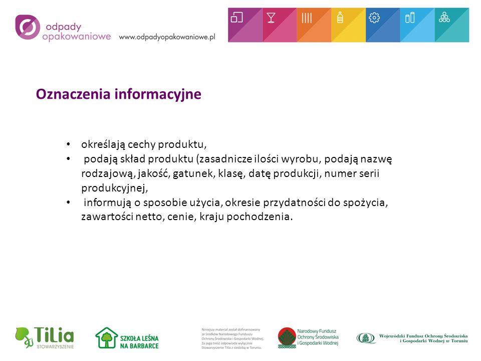Oznaczenia informacyjne
