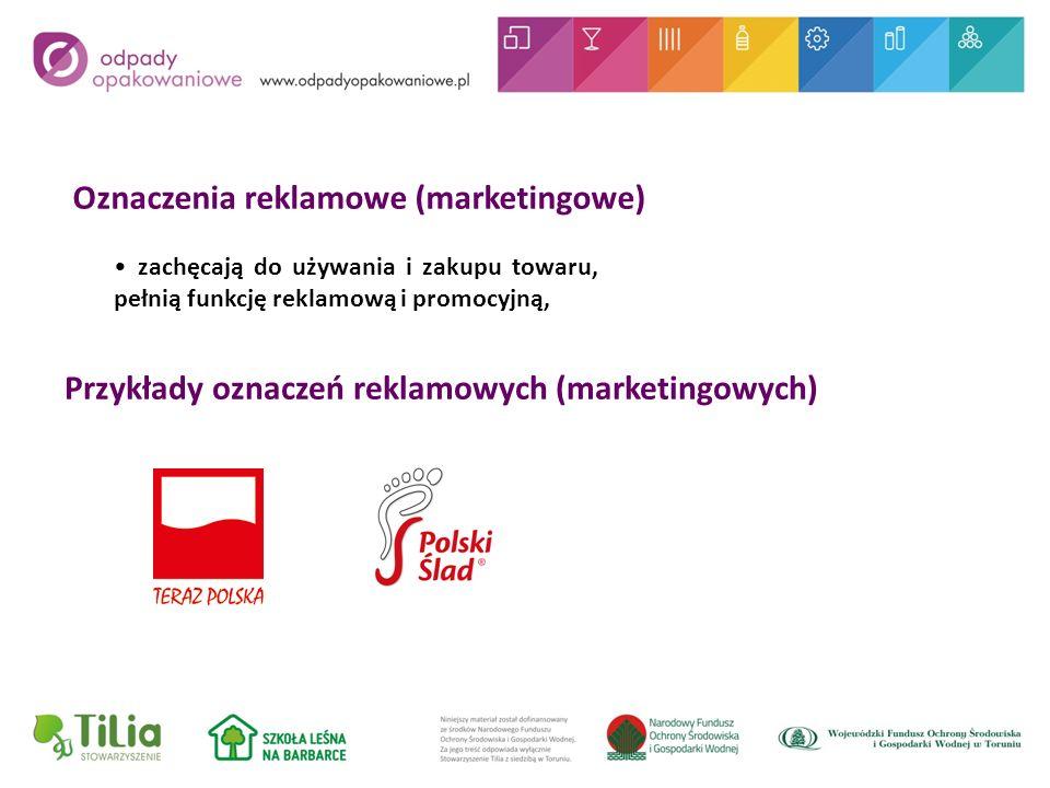 Oznaczenia reklamowe (marketingowe)