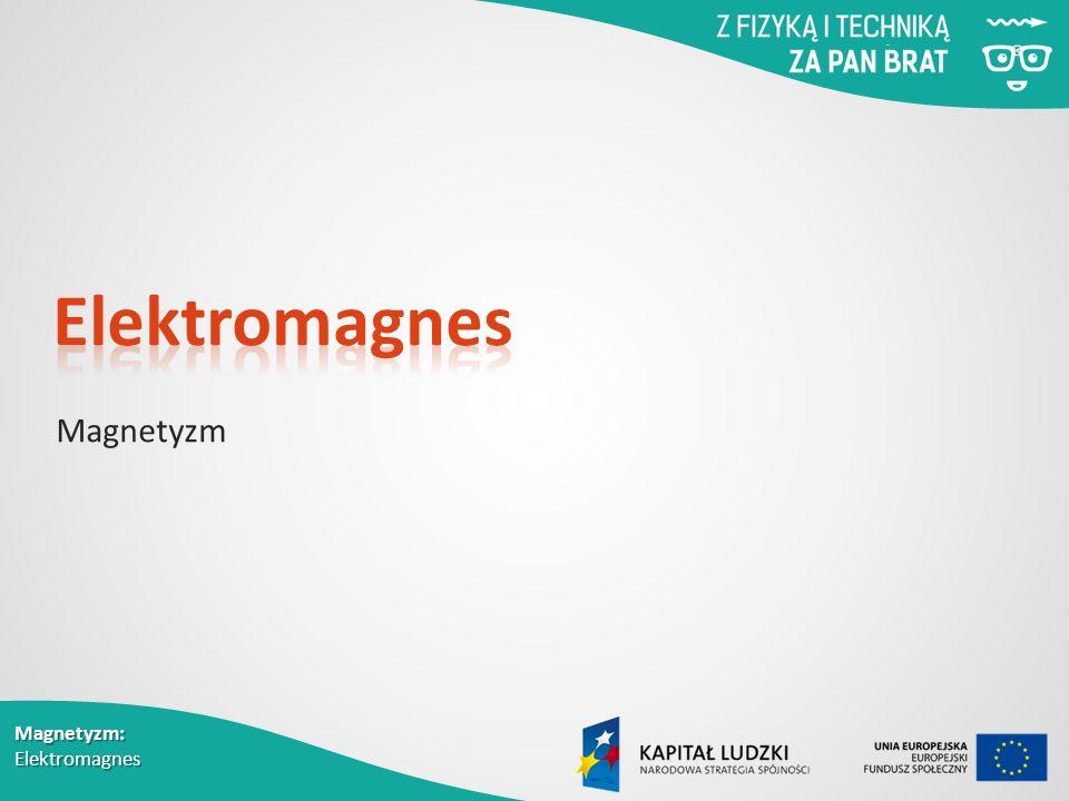 Elektromagnes Magnetyzm