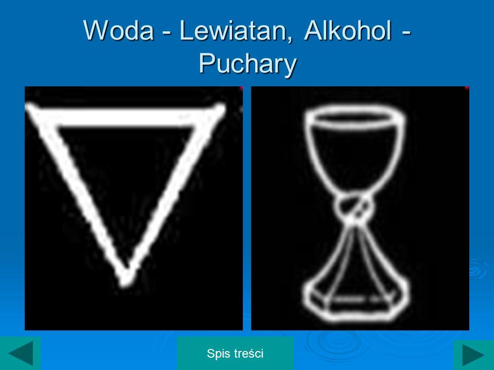 Woda - Lewiatan, Alkohol - Puchary