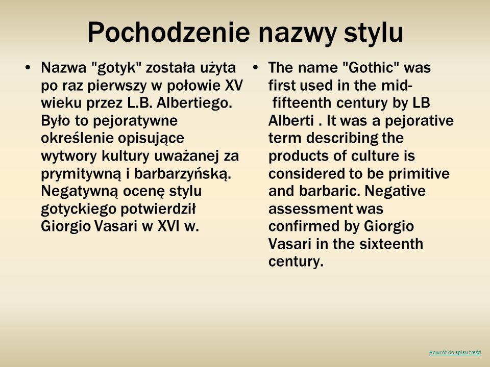 Pochodzenie nazwy stylu