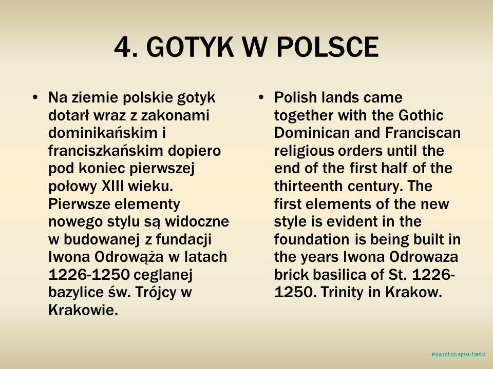 4. GOTYK W POLSCE