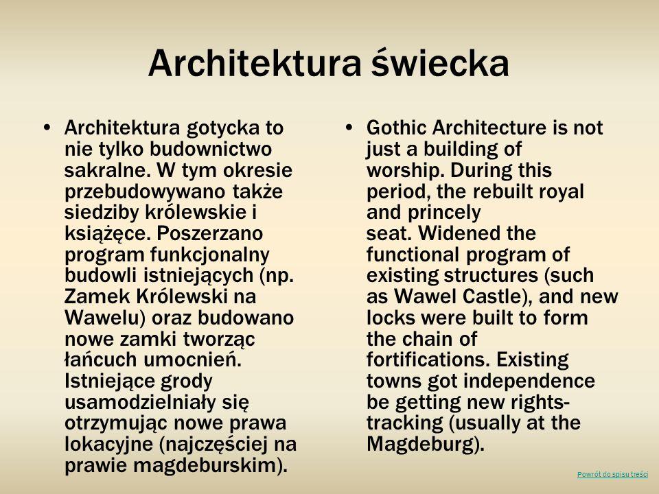 Architektura świecka