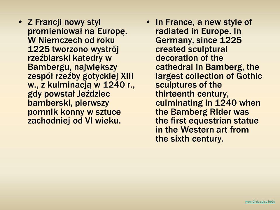 Z Francji nowy styl promieniował na Europę