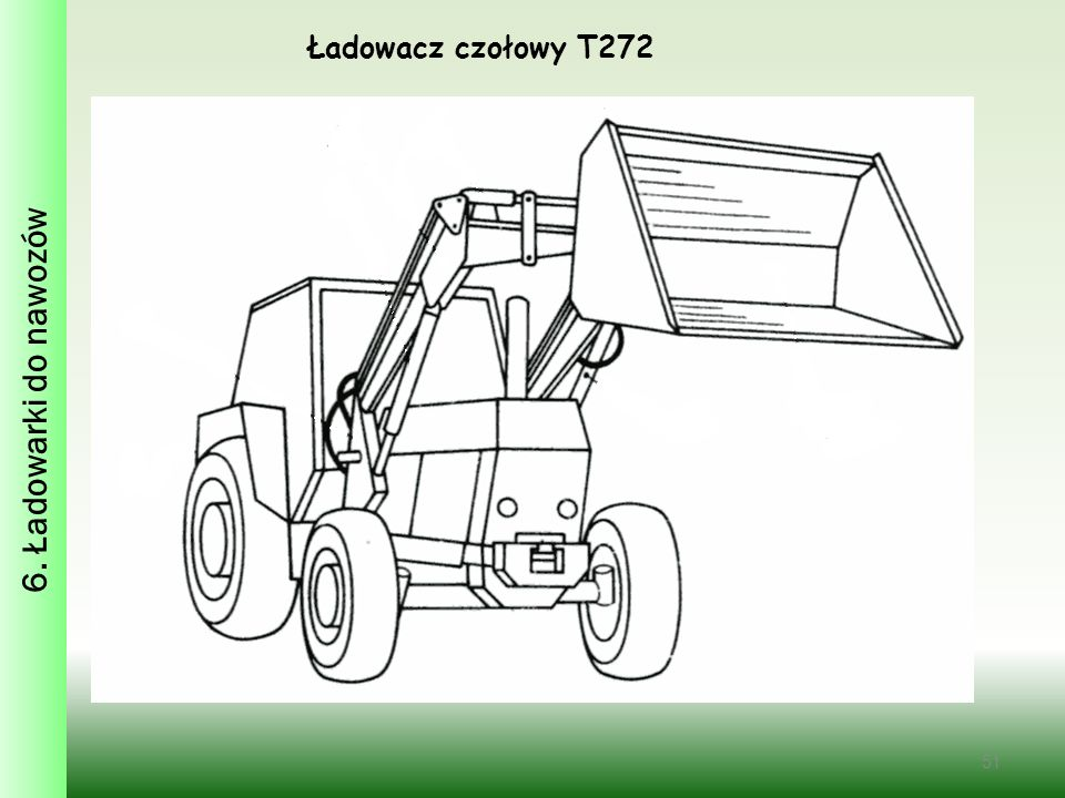 6. Ładowarki do nawozów Ładowacz czołowy T272