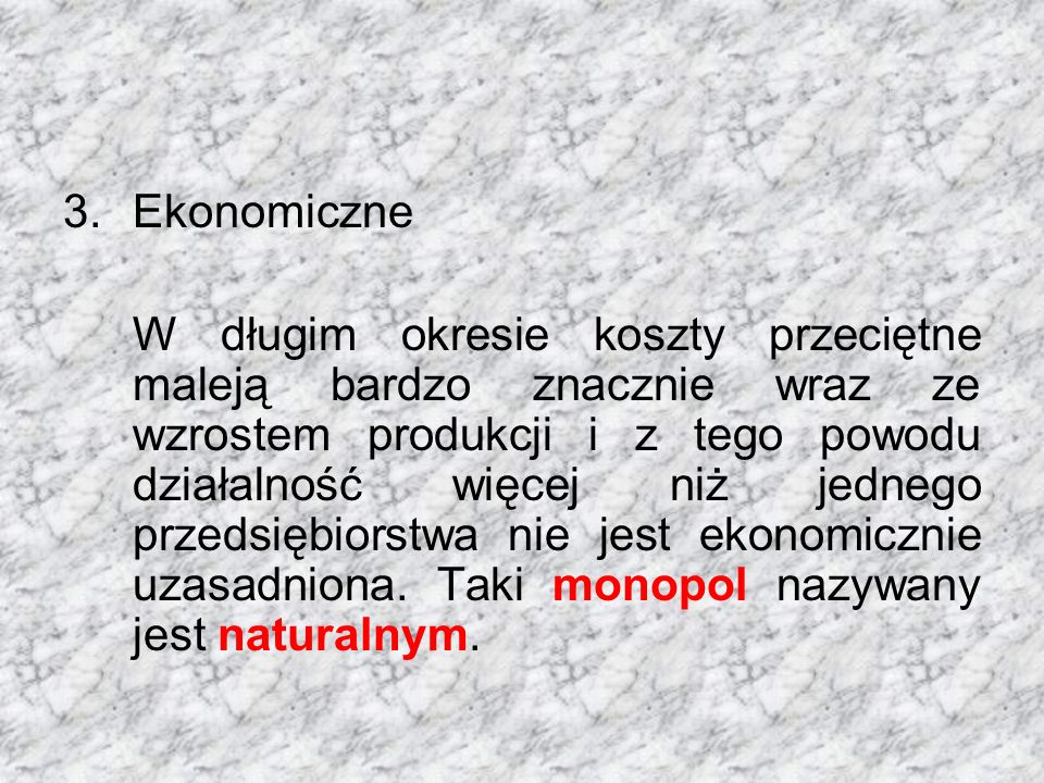 Ekonomiczne