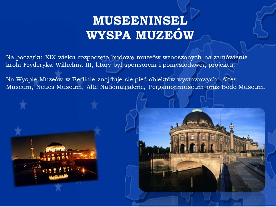 MUSEENINSEL WYSPA MUZEÓW