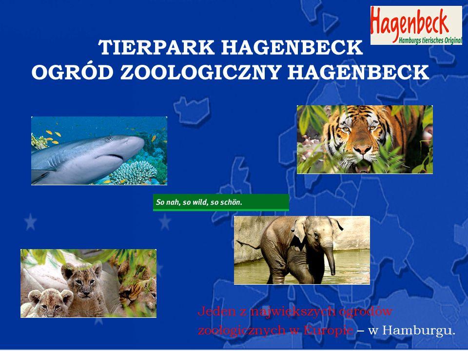 TIERPARK HAGENBECK OGRÓD ZOOLOGICZNY HAGENBECK