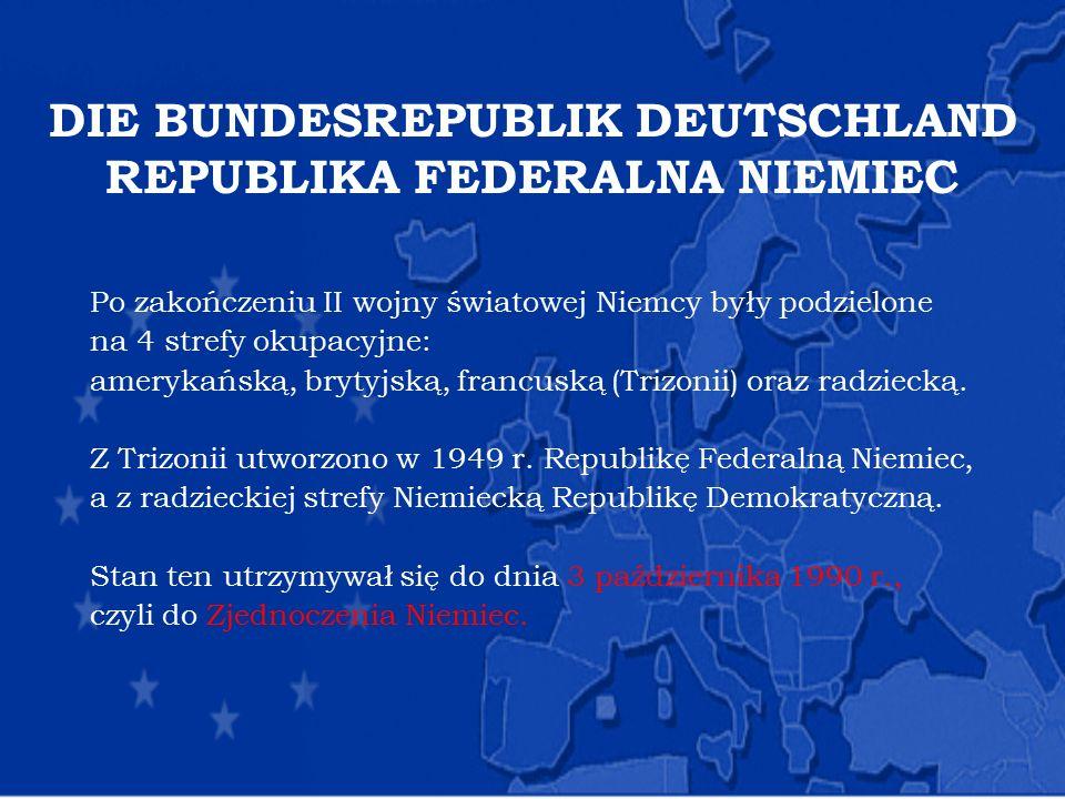 DIE BUNDESREPUBLIK DEUTSCHLAND REPUBLIKA FEDERALNA NIEMIEC