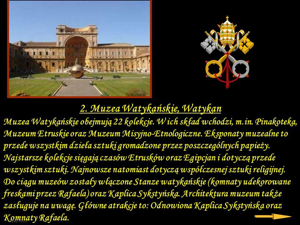 2. Muzea Watykańskie, Watykan