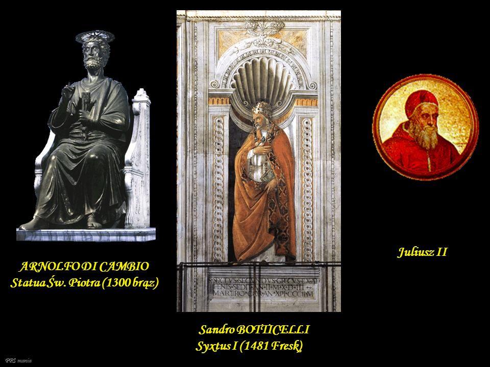 ARNOLFO DI CAMBIO Statua Św. Piotra (1300 brąz)