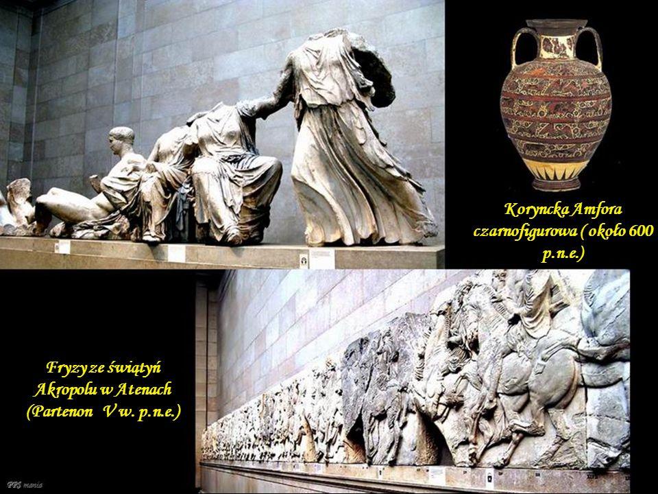 Koryncka Amfora czarnofigurowa ( około 600 p.n.e.)