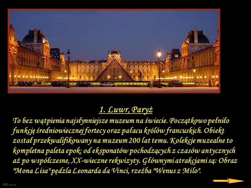 1. Luwr, Paryż