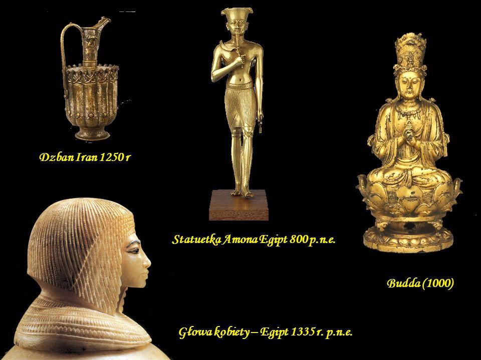Statuetka Amona Egipt 800 p.n.e.