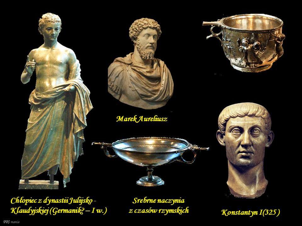 Srebrne naczynia z czasów rzymskich