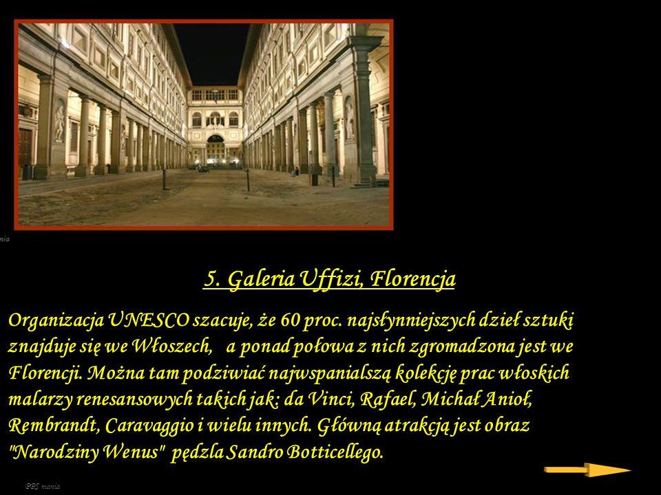 5. Galeria Uffizi, Florencja