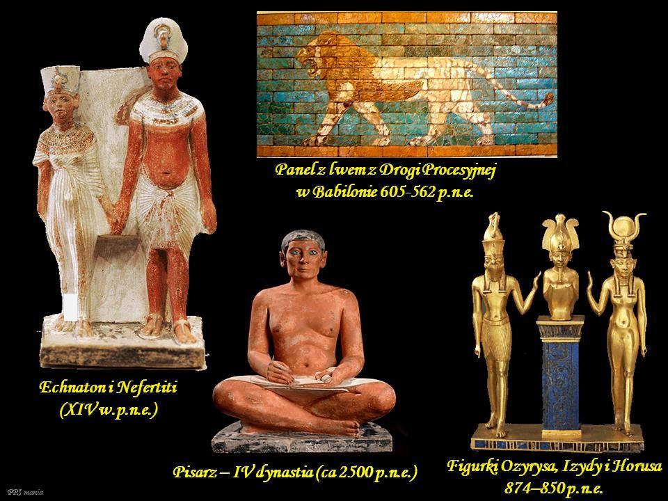 Panel z lwem z Drogi Procesyjnej w Babilonie 605-562 p.n.e.